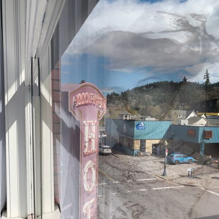 Ghost In The Window at the Hood River Hotel